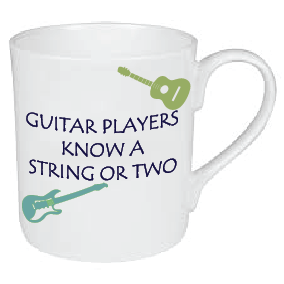 GUITAR PLAYERS KNOW A STRING OR TWO