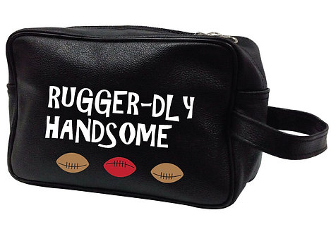 RUGGER-DLY HANDSOME LEATHER WASHBAG
