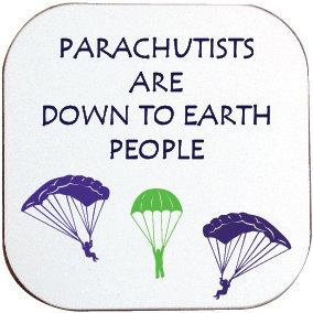 PARACHUTISTS COASTER