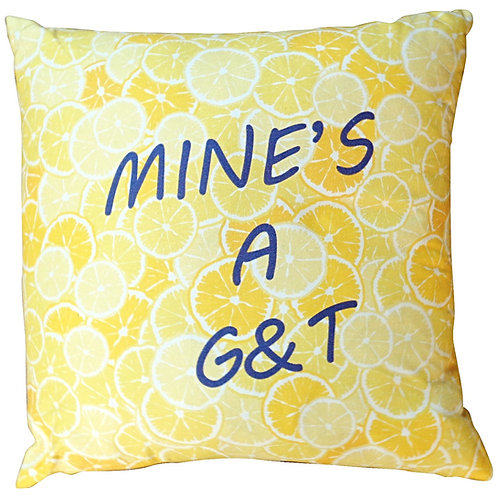 G&T CUSHION COVER
