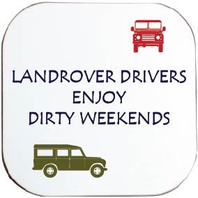 LANDROVER DRIVERS COASTER