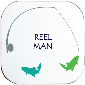 REEL MAN FISHING COASTER