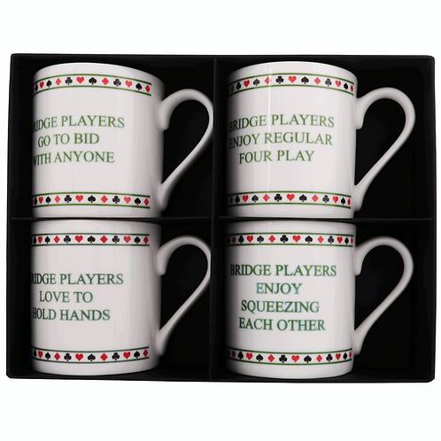 NAUGHTY BRIDGE MUG SET