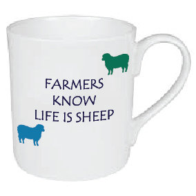 LIFE IS SHEEP MUG