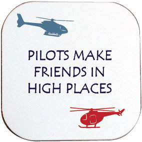 HELICOPTER PILOTS MAKE FRIENDS IN HIGH PLACES COASTER