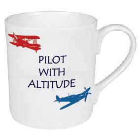 PILOT WITH ALTITUDE MUG
