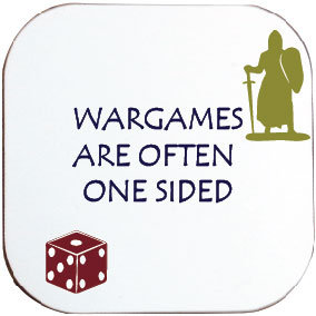 ONE SIDED WARGAMES COASTER