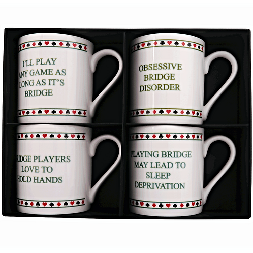 CHARMING BRIDGE MUG SET