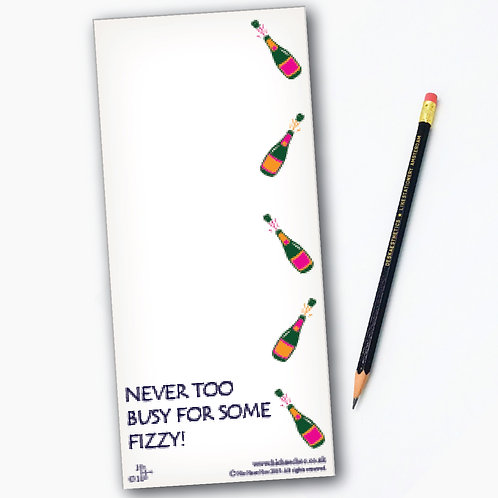 SOME FIZZY MAGNETIC SHOPPING LIST