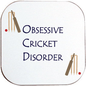 OBSESSIVE CRICKET DISORDER COASTER