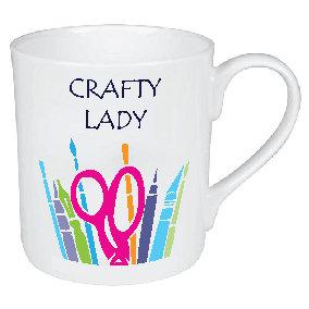CRAFTY LADY MUG