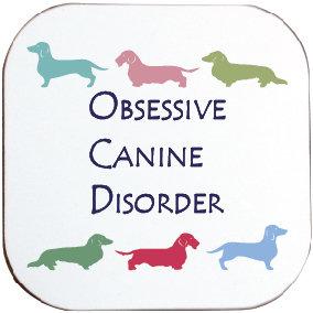 DACHSHUND / SAUSAGE DOG COASTER