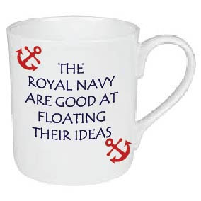 ROYAL NAVY FLOATING IDEAS MUGS