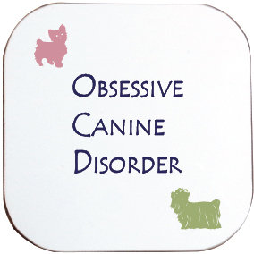 YORKIE/YORKSHIRE TERRIER DOG COASTER