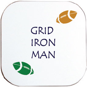 AMERICAN FOOTBALL GRID IRON MAN COASTER