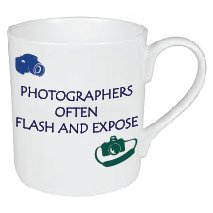 PHOTOGRAPHERS FLASH AND EXPOSE MUG