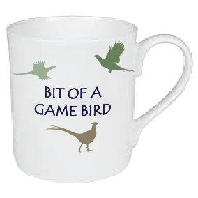 BIT OF A GAME BIRD / SHOOTING MUG