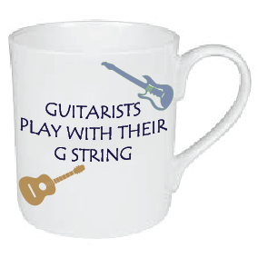GUITARIST PLAY WITH THEIR G STRING