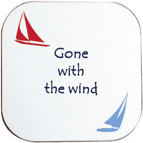 GONE WITH THE WIND SAILING COASTER