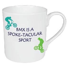 BMX IS A SPOKE-TACULAR SPORT / CYCLING MUG