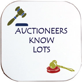 AUCTIONEERS KNOW LOTS COASTER