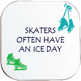 ICE SKATING COASTER