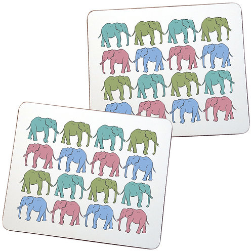 ELEPHANT PLACEMATS - sold in pairs