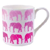 PINK ELEPHANT MUG