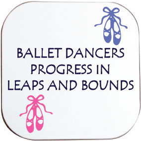 BALLET PROGRESS IN LEAPS AND BOUNDS COASTER