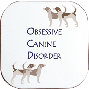 OCD HOUNDS COASTER