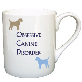 BORDER TERRIER DOG MUG