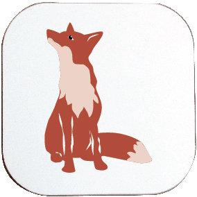 SEATED FOX COASTER