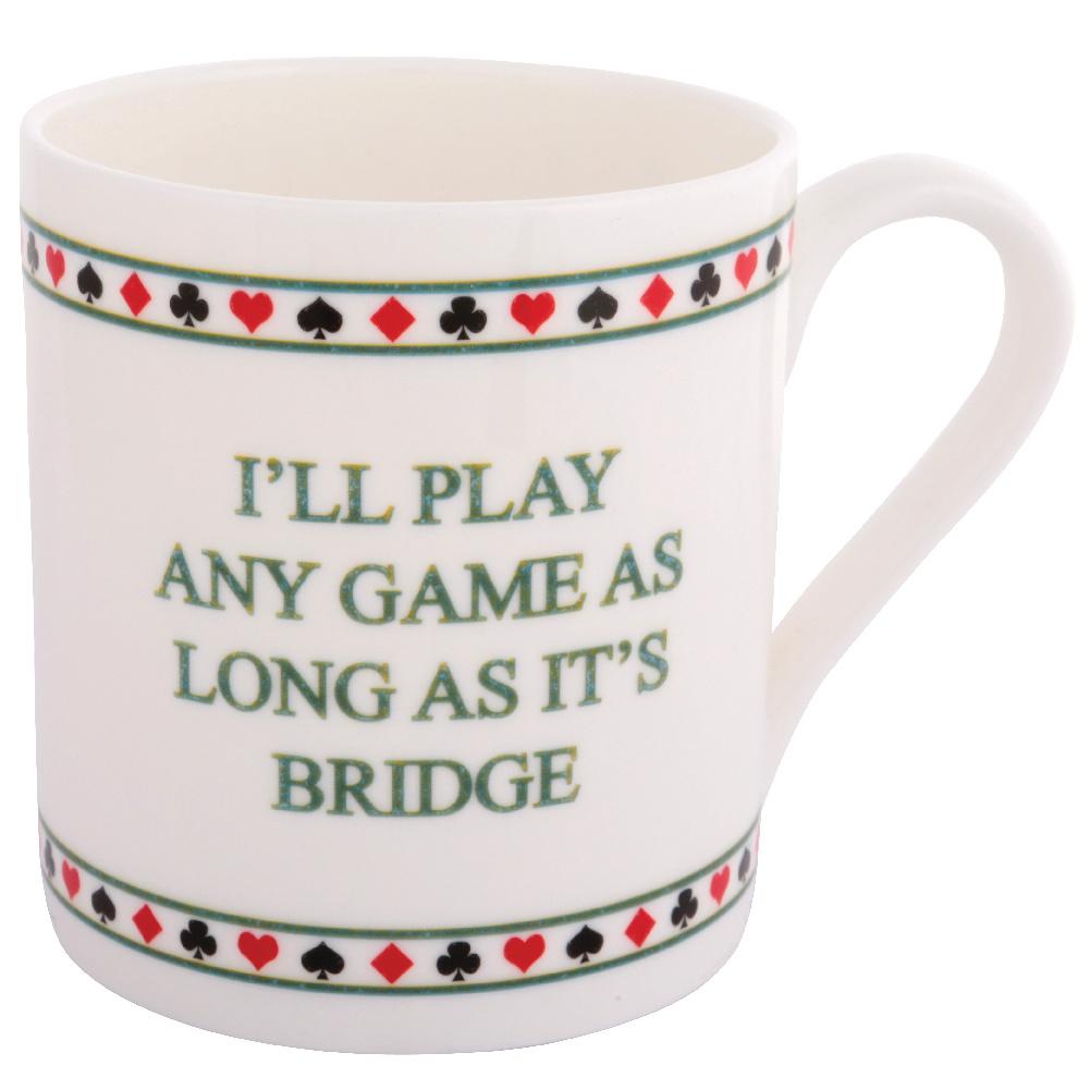 Funny bridge mug