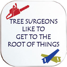 TREE SURGEONS GET TO THE ROOT COASTER