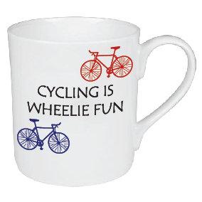 WHEELIE FUN CYCLING MUG
