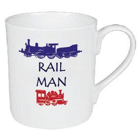 RAIL MAN / TRAIN MUG