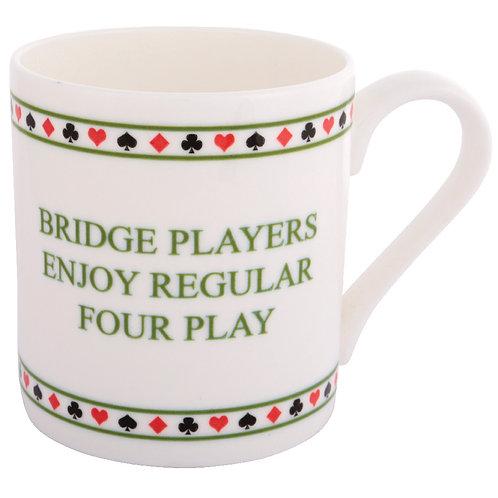 BRIDGE MUG - FOUR PLAY