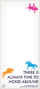 HORSE AROUND MAGNETIC SHOPPING LIST