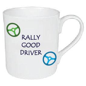 RALLY GOOD DRIVER / CAR MUG