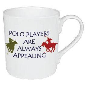 APPEALING POLO PLAYERS MUG