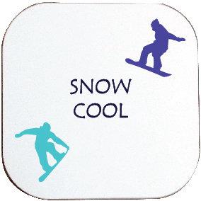 SNOW COOL SNOWBOARDING COASTER