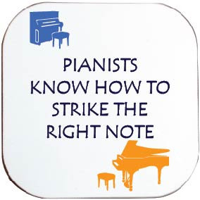 PIANISTS / MUSIC COASTER
