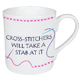 CROSS STITCHERS MUG