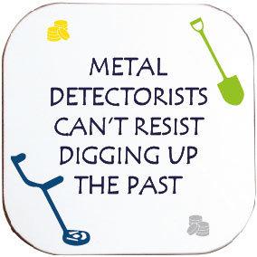 METAL DETECTORISTS COASTER