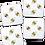 Thumbnail: SET OF 4 BEE COASTERS