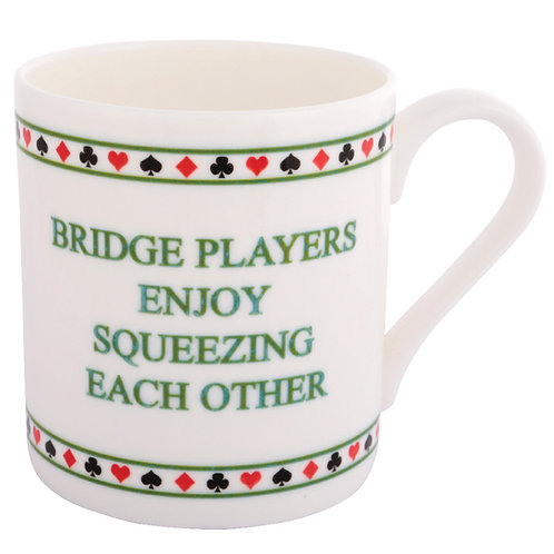 BRIDGE MUG - SQUEEZING