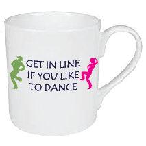 LINE DANCING MUG