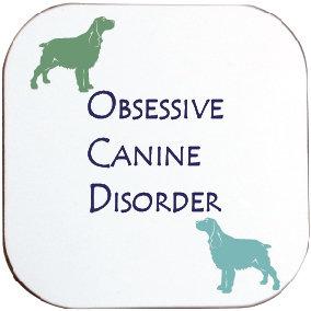 SPANIEL / SETTER DOG COASTER