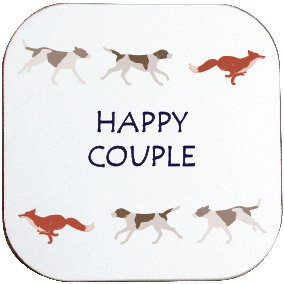HAPPY COUPLE COASTER