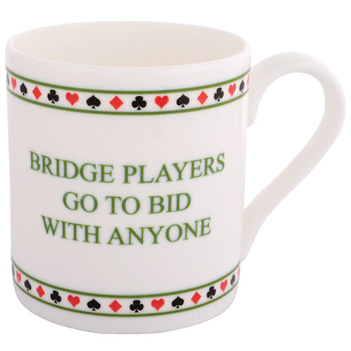 BRIDGE MUG - GO TO BID